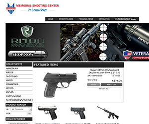Memorial Shooting Center Launches New Online Store