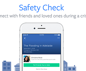 Stay Conncected During a Crisis with Facebook's Safety Check
